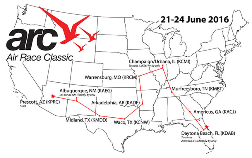 Souther Field Aviation Joins Air Race Classic as En Route Stop for 2016 Course
