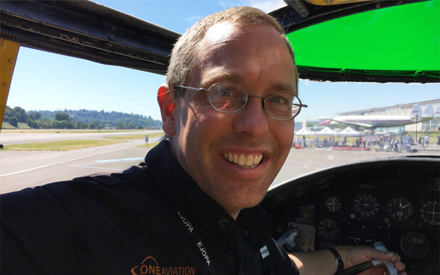 Eric Whyte Named Recipient of Phillips 66 Aviation's EAA Young Eagles Leadership Award