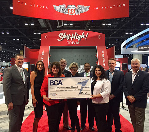 Phillips 66 Aviation Donates $22,000 to Corporate Angel Network through Corporate Angel Award Sponsorship