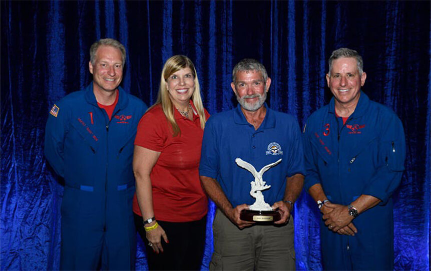 John Mininger Named Recipient of Phillips 66 Aviation's 2016 Leadership Award